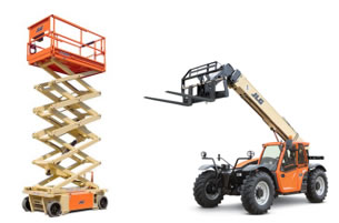 Scissor Lifts vs. Telehandlers
